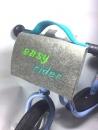 Filz-Lenkertasche easy rider in türkis/grün